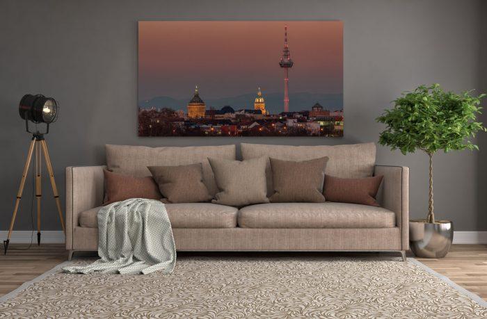 Mannheim Sunset Mockup