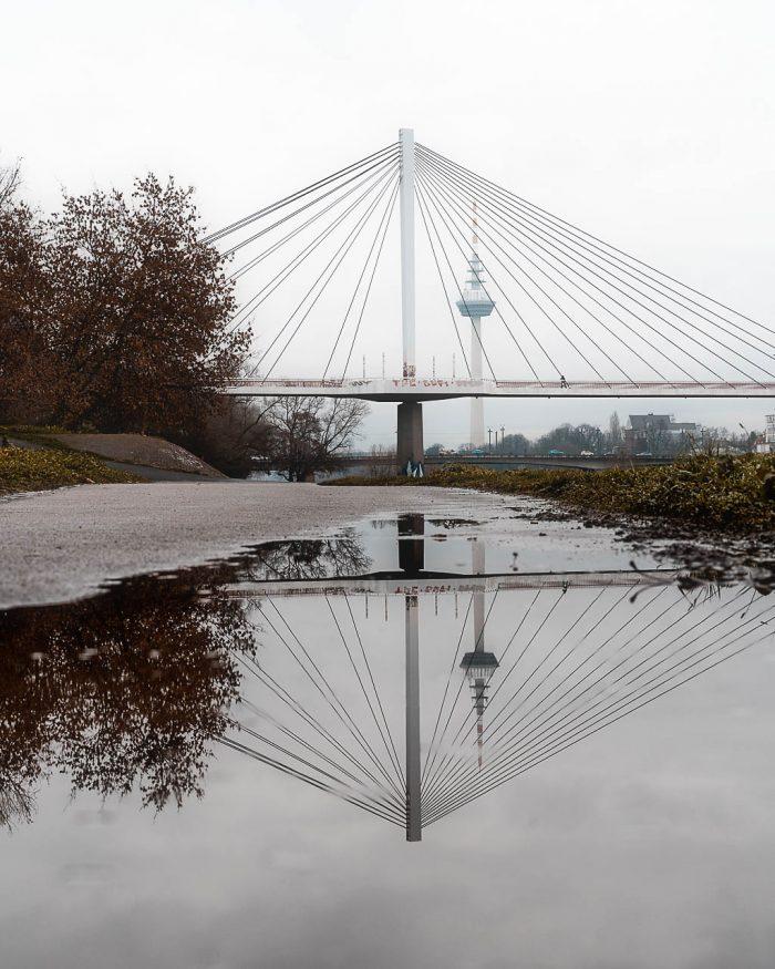 Mannheimer Fernsehturm mal Zwei